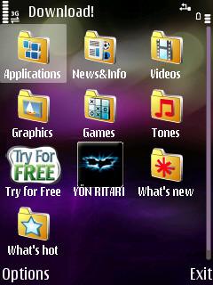 Download main menu
