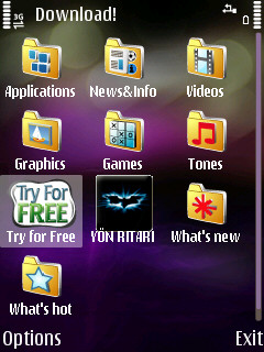 Try For Free icon highlighted
