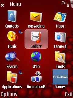 Forever Lies menu screen