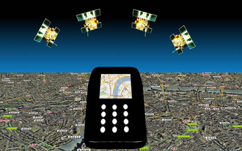 Navigating with your gps enabled phone