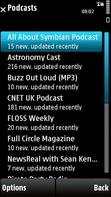 Podcasts ready for downloading on your mobile