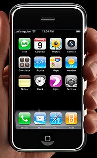 Apple iPhone против Nokia N95 8Gb