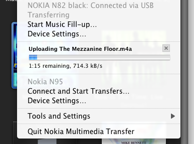Syncing music