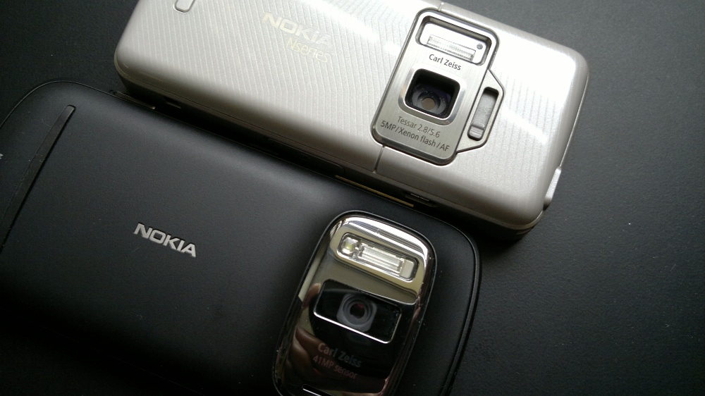 N82 and Nokia 808