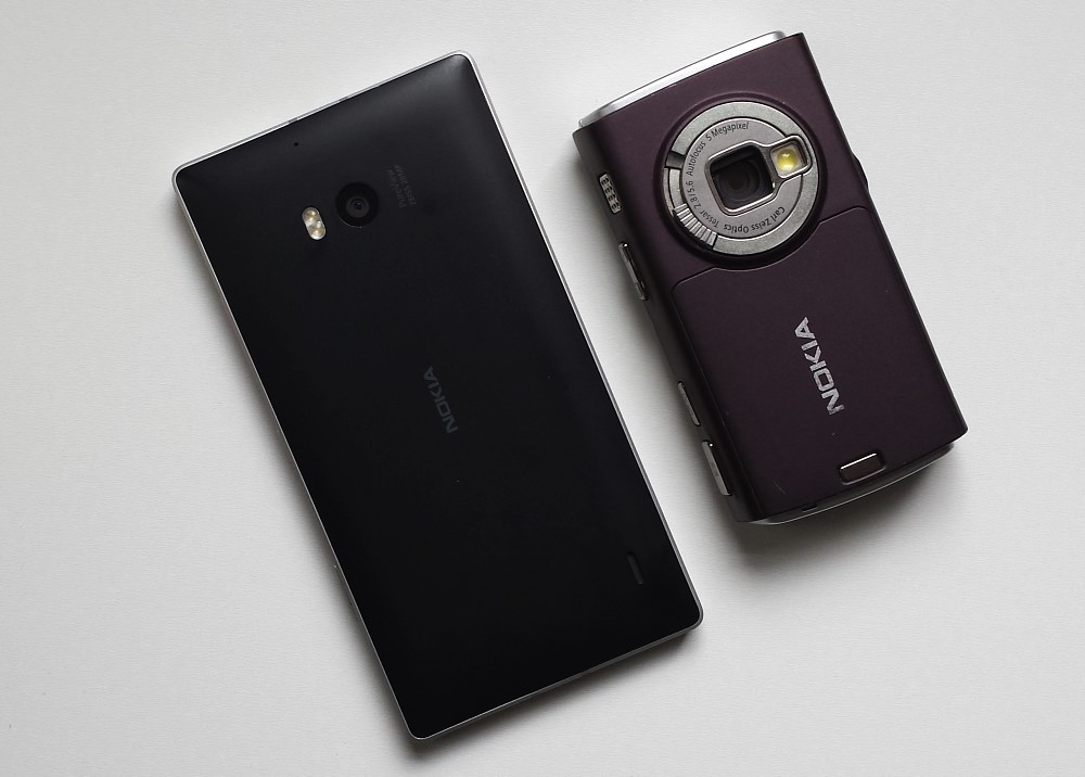 Lumia 930 and Nokia N95