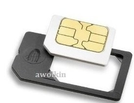 German patented microSIM adapter