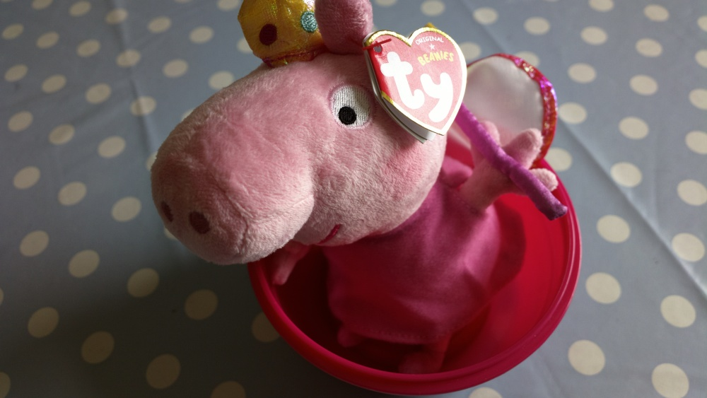 Test shot, Peppa Pig!