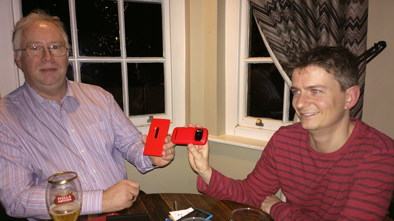 Richard and Andy, Lumia 920 and Nokia 808