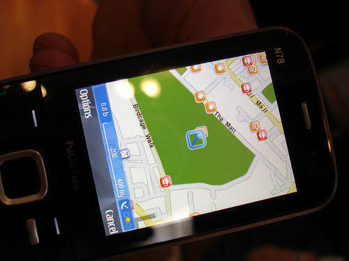 Nokia Maps on N78