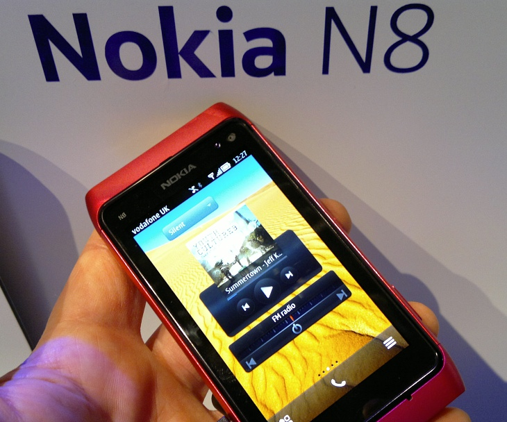 N8 with Belle at Nokia World