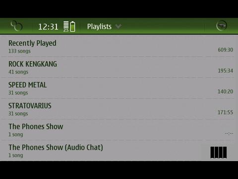 N900 Playlist