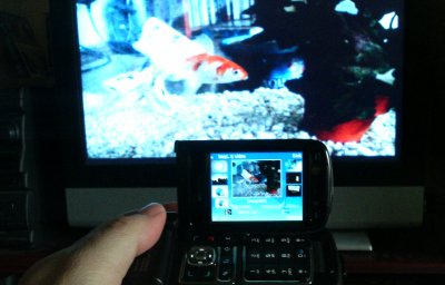Videos, slides, photos, all from N93 to widescreen TV....
