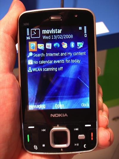 N96 in hand