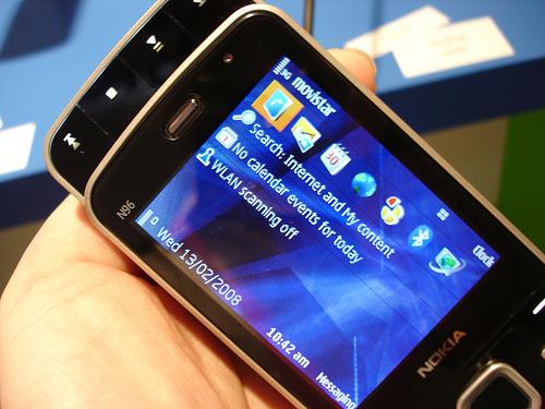 N96 landscape mode