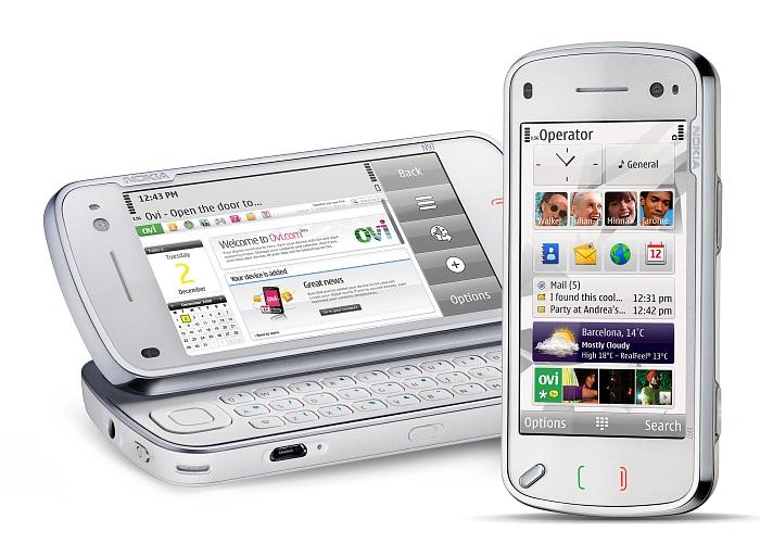 Nokia N97 hybrid form factor