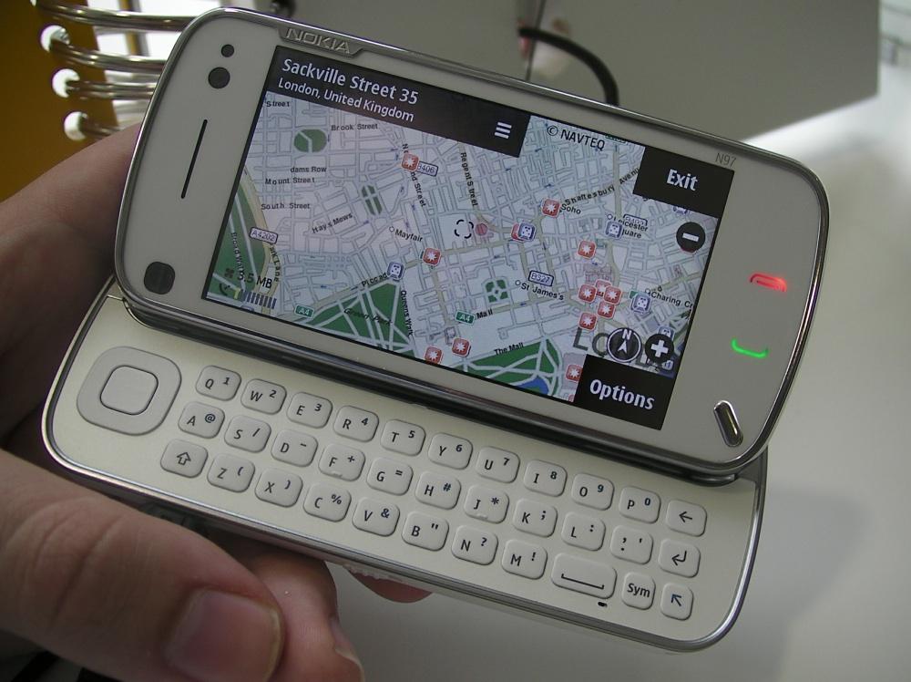 White N97 'flagship'