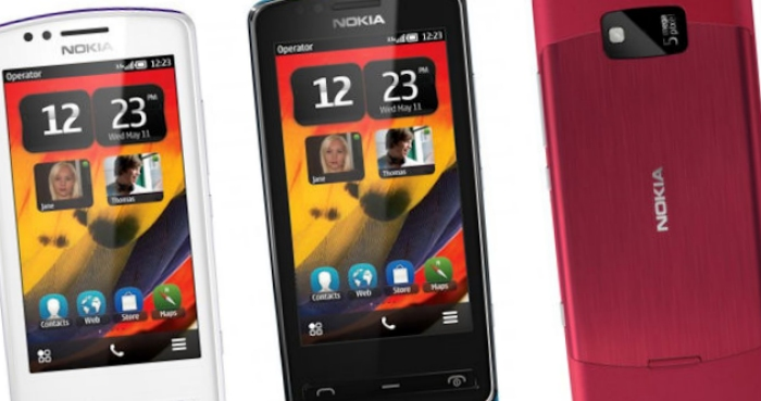 Nokia 700 running Belle