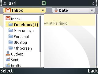 Nokia Messaging S60, Folder List