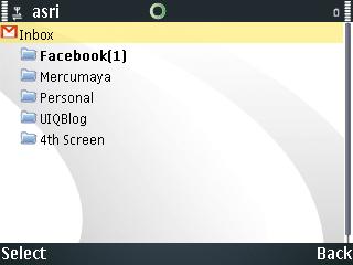 Nokia Messaginf S60, Folder List 2