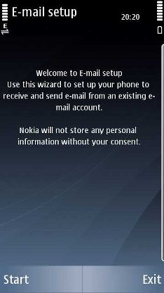 Nokia Messaging Setup 4