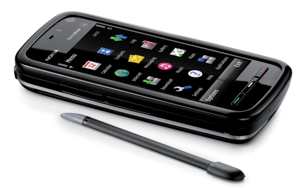 Nokia 5800 and S60 5th Edition, stylus and all