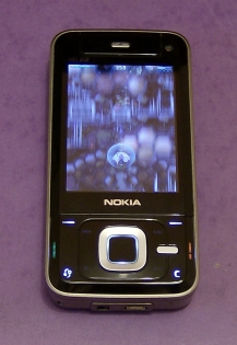 Nokia N81 running Space Impact demo