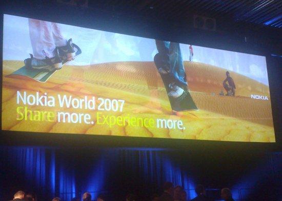 Nokia World 2007