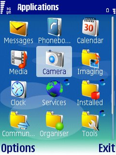 Screenshot Application Screen