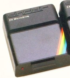 Sinclair ZX Microdrive data storage system