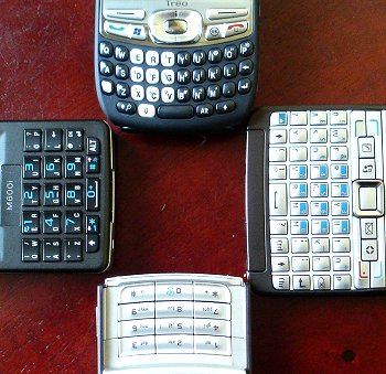 Buttons, buttons and keypads. Better than touchscreens? It's your choice!