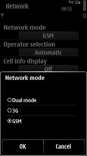 On Symbian...