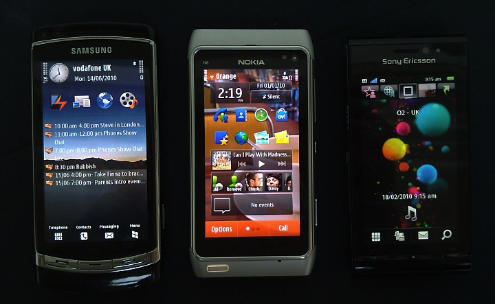 Symbian's 3 flagships