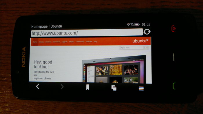 Symbian and Ubuntu