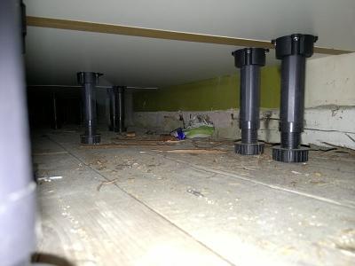 Under cupboards