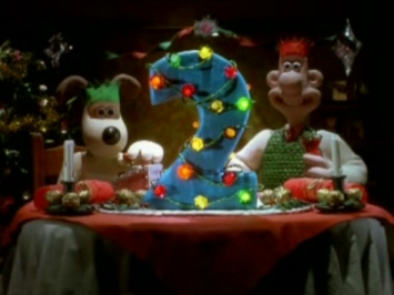 Wallace and Gromit on BBC2 at Xmas
