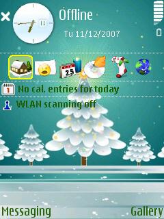 Xmastree standby screen