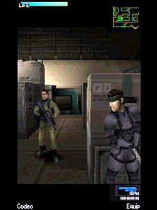 Metal Gear Solid Mobile gameplay screen