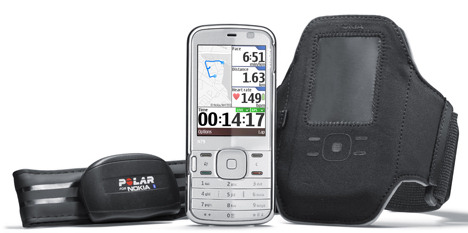 Nokia N79 Active Tracks Heart Rate