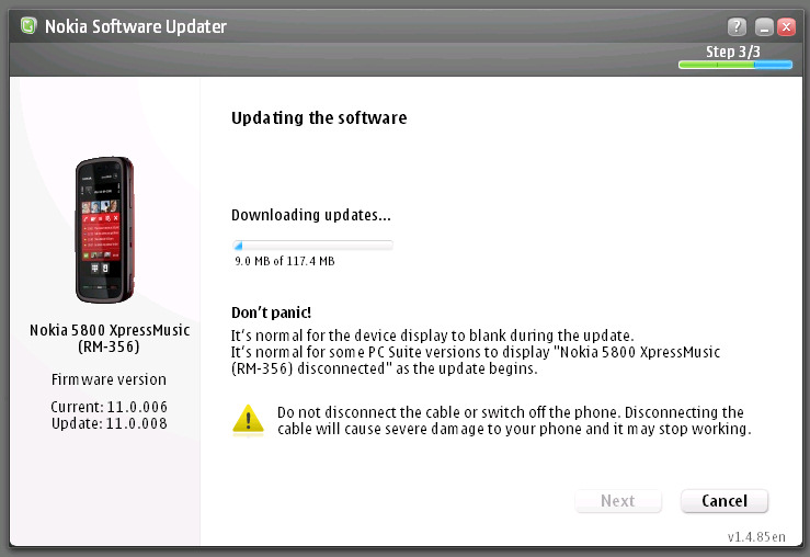 Questions nokia software updater service is currently unavailable the