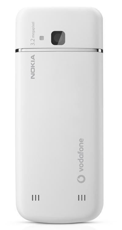 Nokia 6730 Classic Vodafone Back shot
