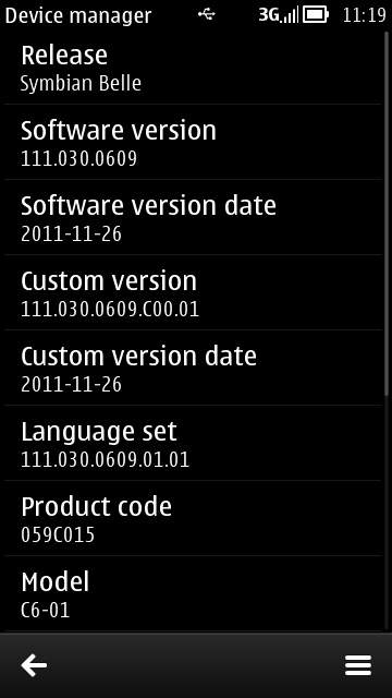 symbian belle version number ile ilgili görsel sonucu