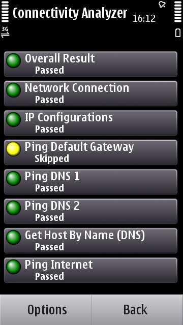 Connectivity Analyzer