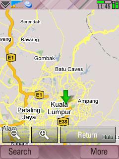 Google Maps UIQ 3