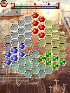 Hexxagon three player