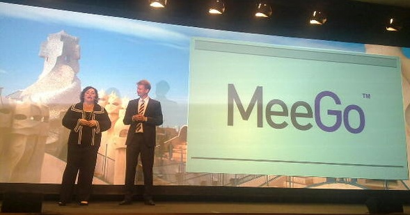 Announcement of MeeGo at Mobile World Congress 2010