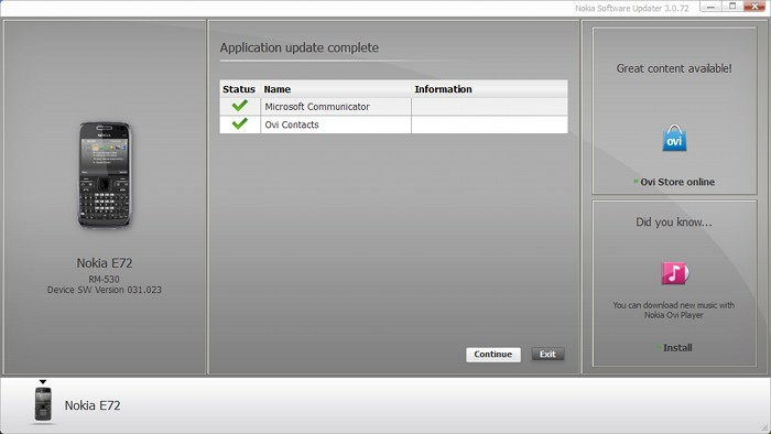 NSU 3 Beta 1 - Completed Updates