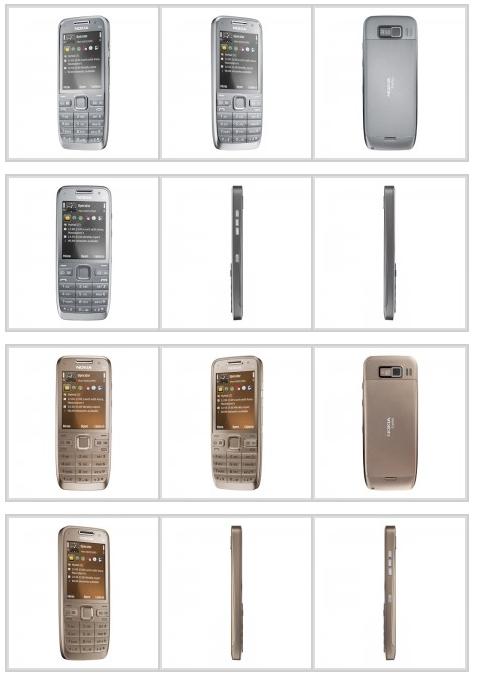 Photos of the Nokia E52
