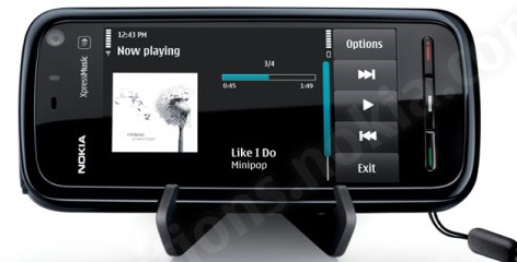 nokia 5800 touch enabled mid range music focussed s60. Black Bedroom Furniture Sets. Home Design Ideas