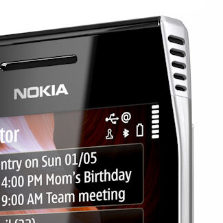 Nokia X7 detail 2