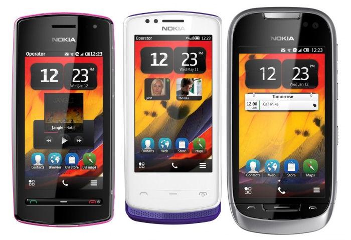 Nokia Belle handsets
